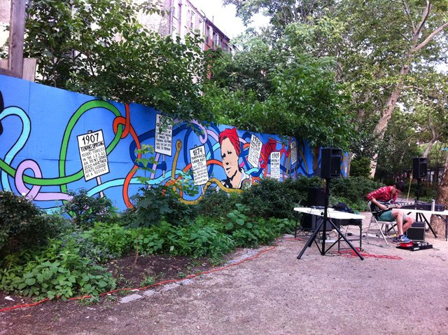 First Street Garden East Village Manhattan
