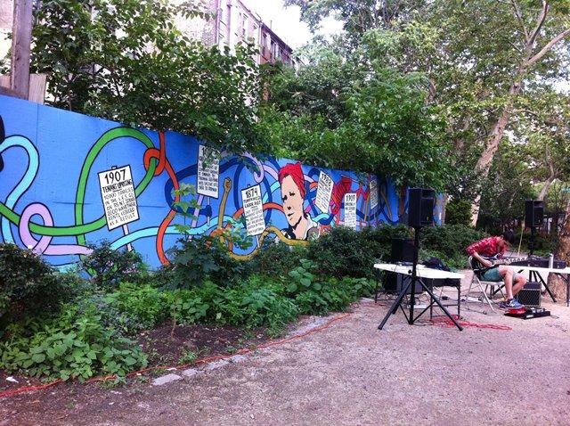 First Street Garden East Village Manhattan