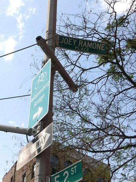 Joey Ramone Place East Village Manhattan