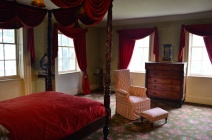 Bed and Chair in the Morris-Jumel Mansion
