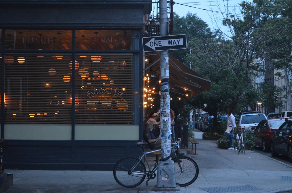 Cafe Colette in Williamsburg Brooklyn