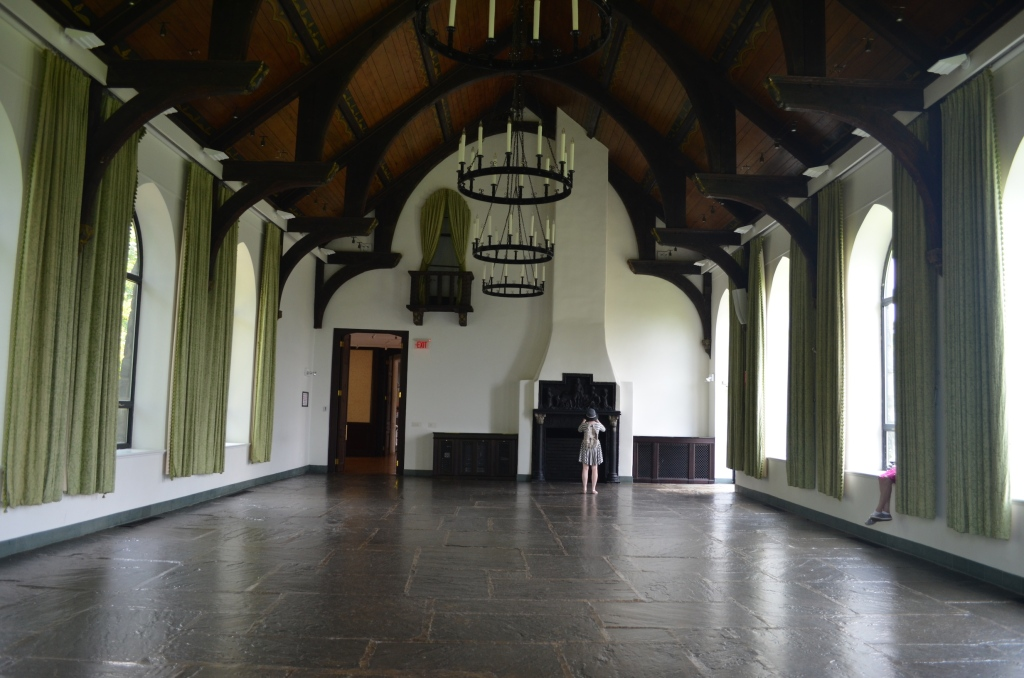 Grand Hall at Wave Hill House
