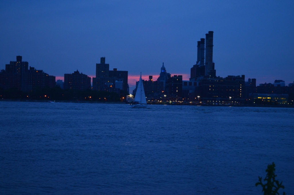 Summer Sunset in Manhattan