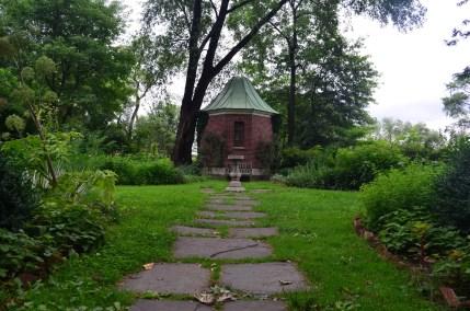 Sunken Garden at the Morris-Jumel Mansion