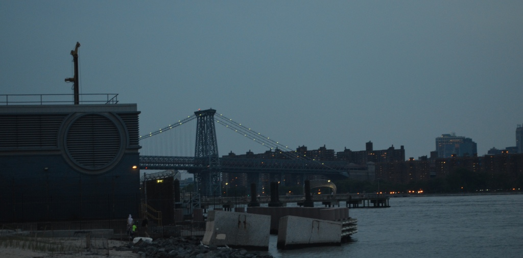 Williamsburg Bridge Across the East River