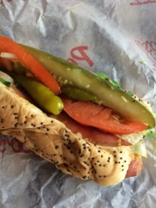 Portillo's Chicago Style Hot Dog