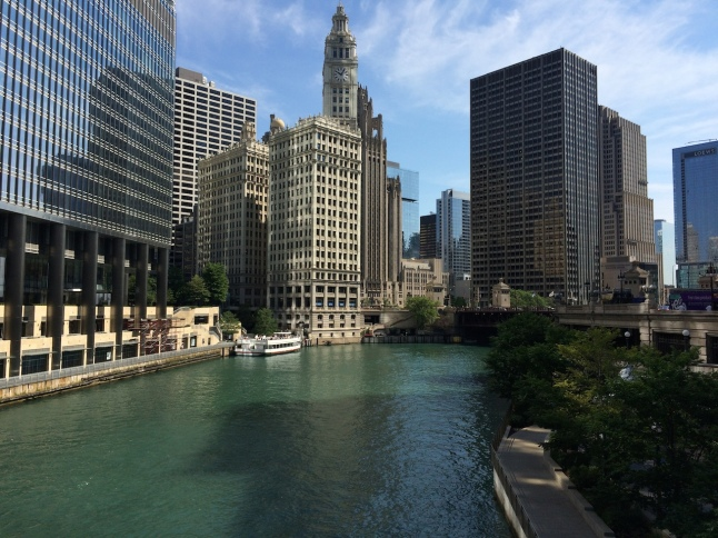 Chicago River in the Loop