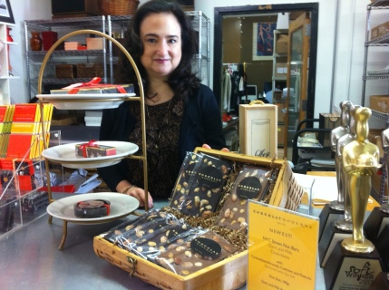 Owner of Chocolat Moderne Joan Coukos Todd