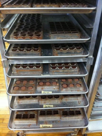 Beautiful Chocolate at Chocolat Moderne