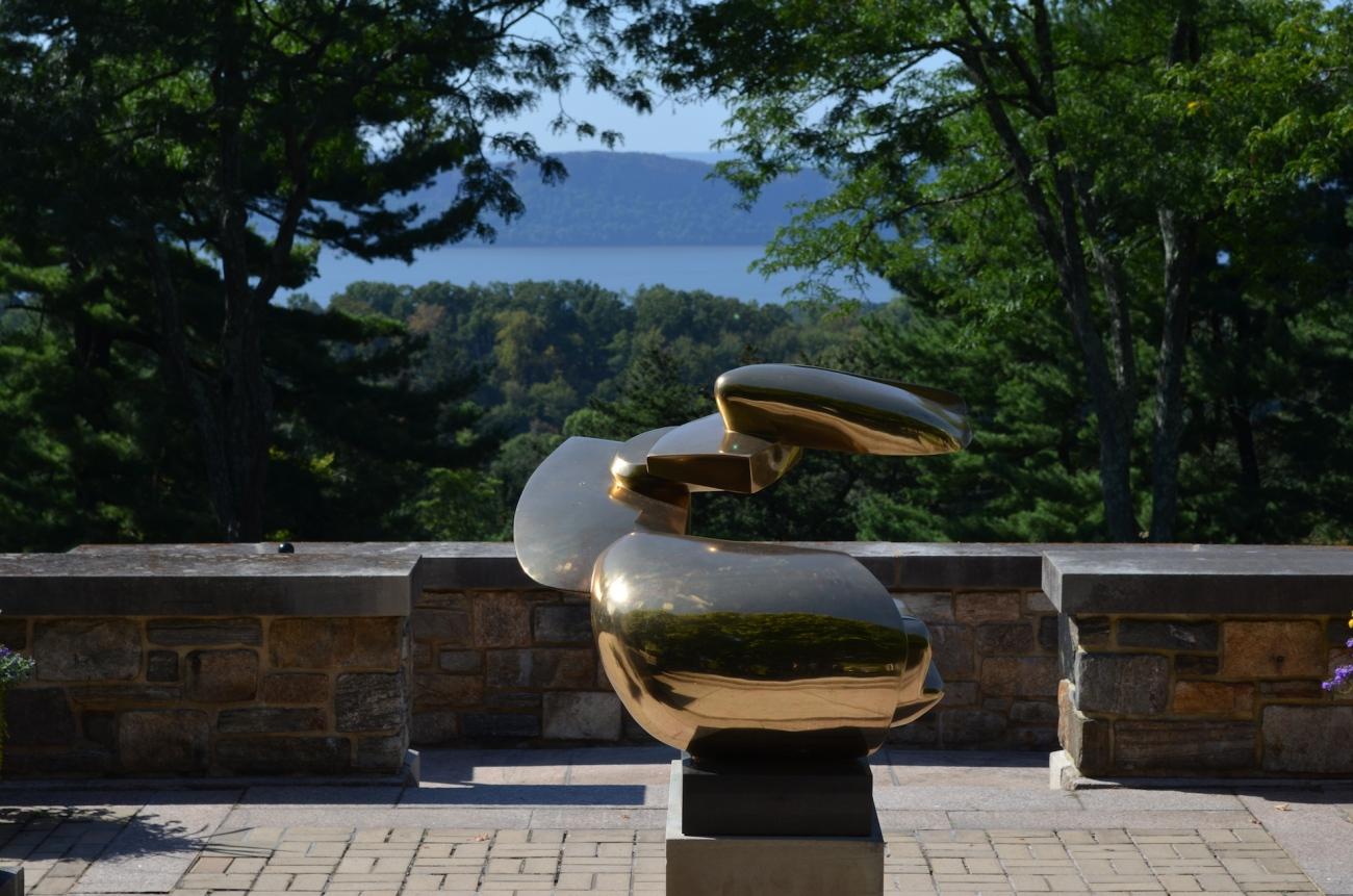 Brass Sculpture at the Rockefeller Estate