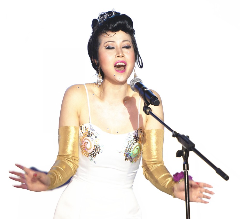 Lady Long Long Singing