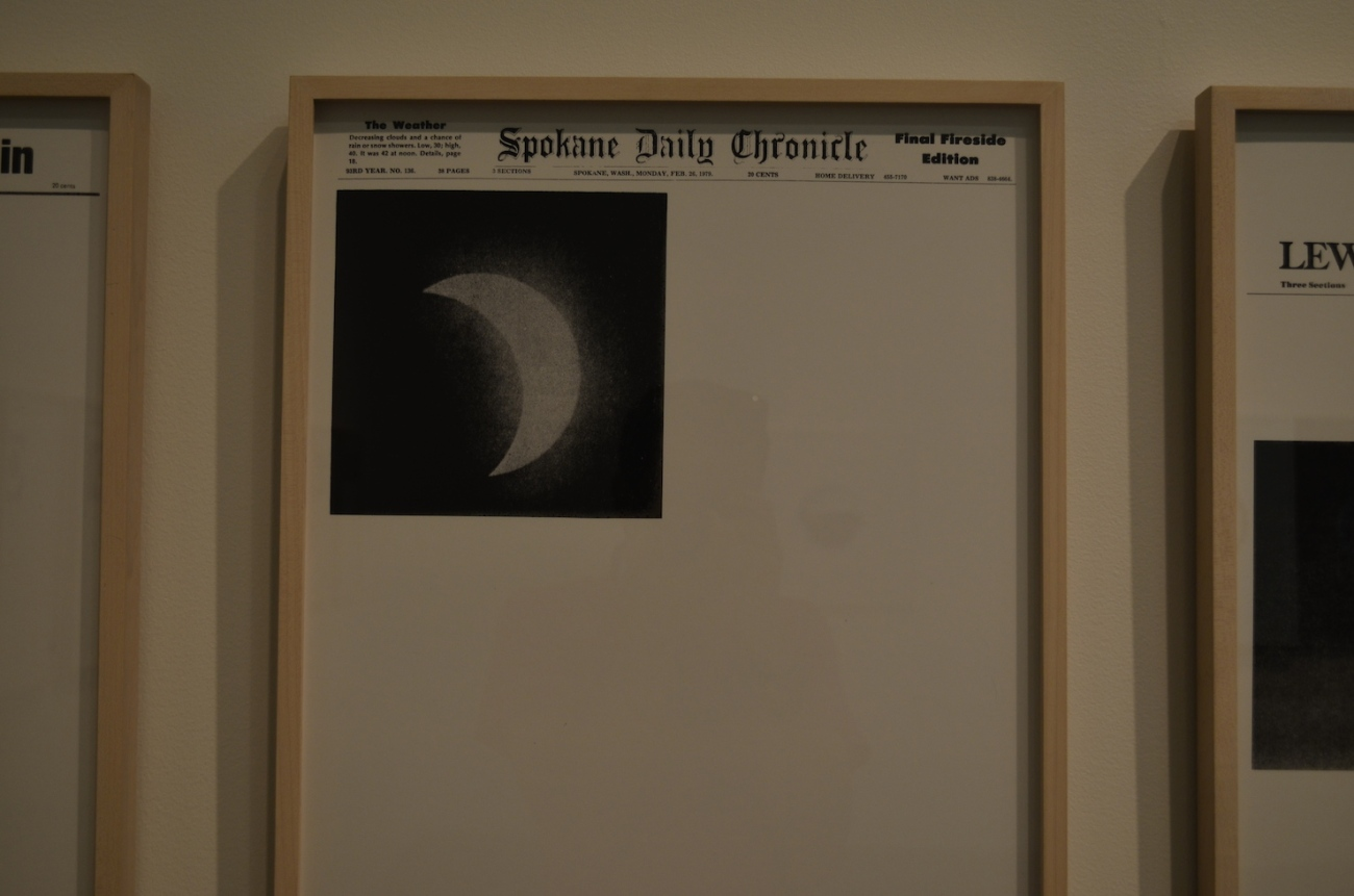 Spokane Daily Chronicle Eclipse