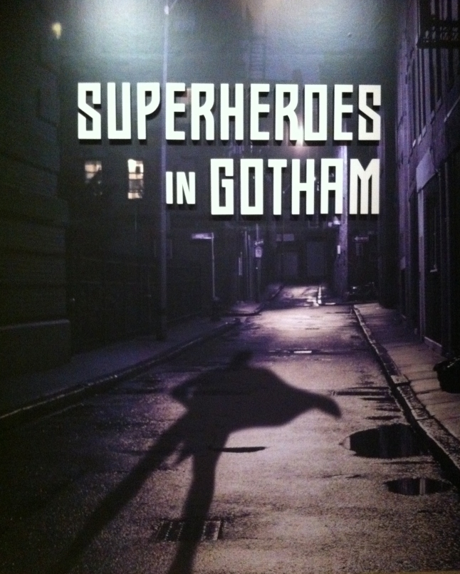 Superheros in Gotham