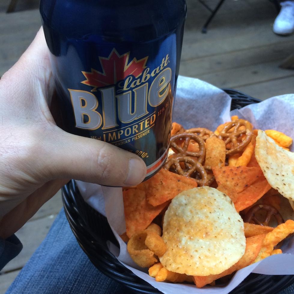 Labatt Blue and Chip Mix