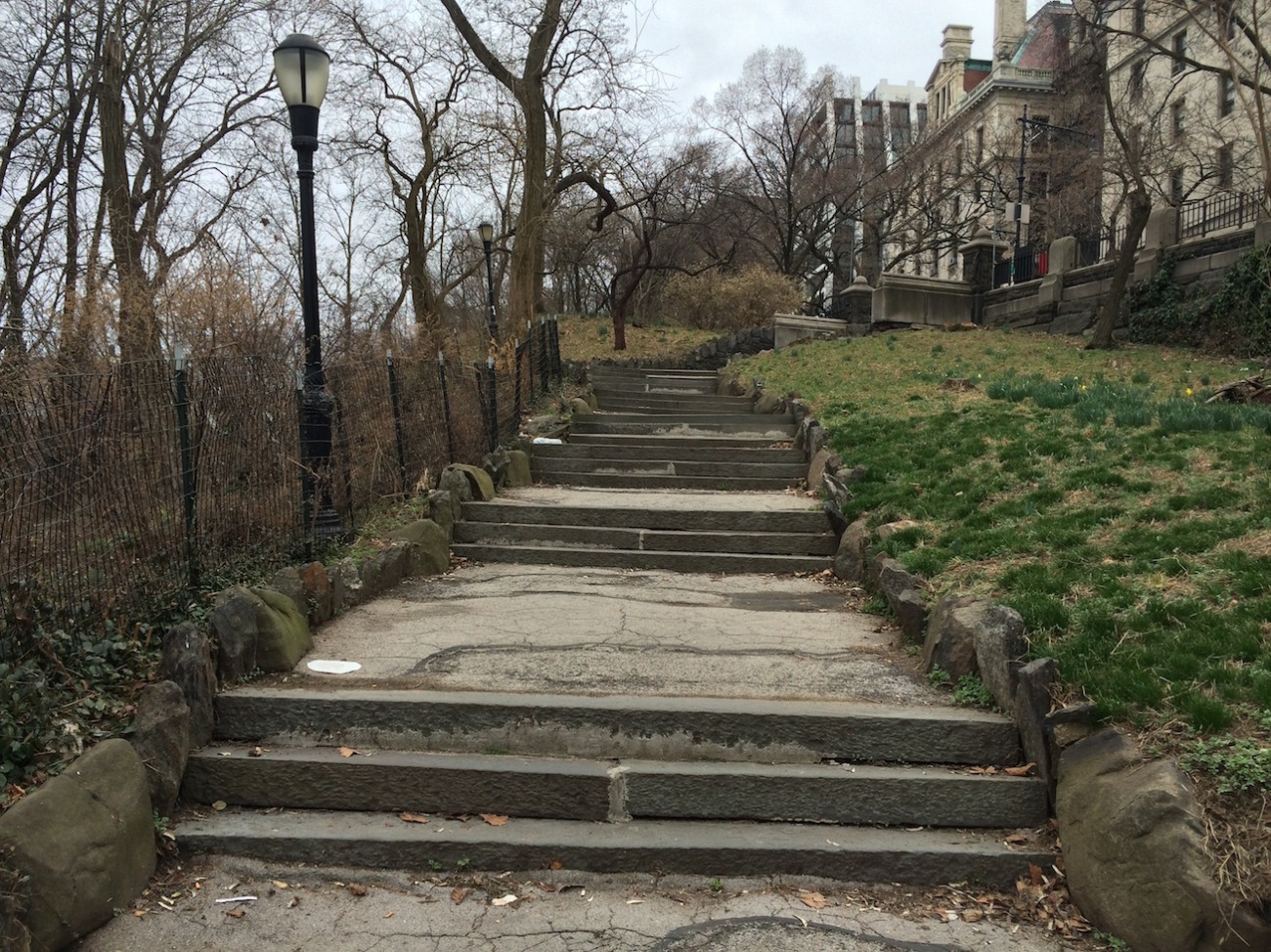 Morningside Park Stair Workout 12