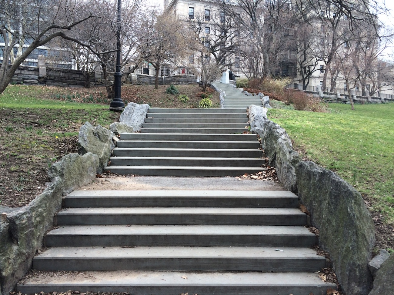 Morningside Park Stair Workout 14