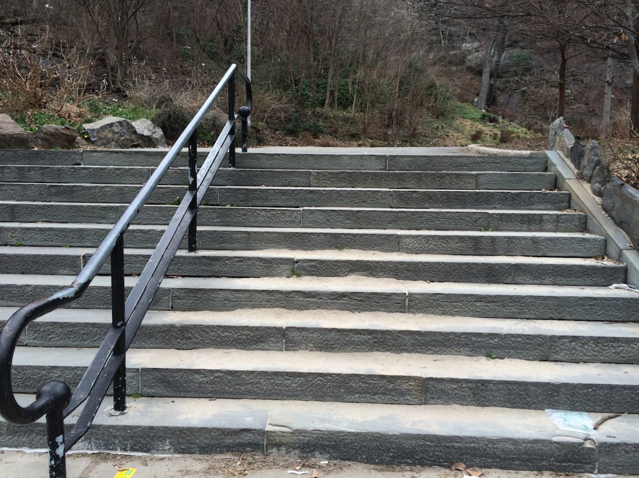 Morningside Park Stair Workout 15