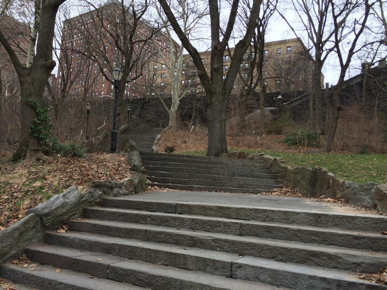 Morningside Park Stair Workout 2
