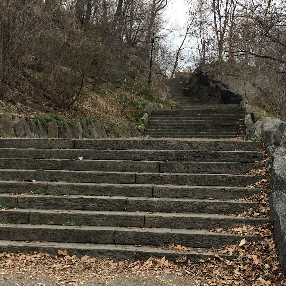 Morningside Park Stair Workout 7
