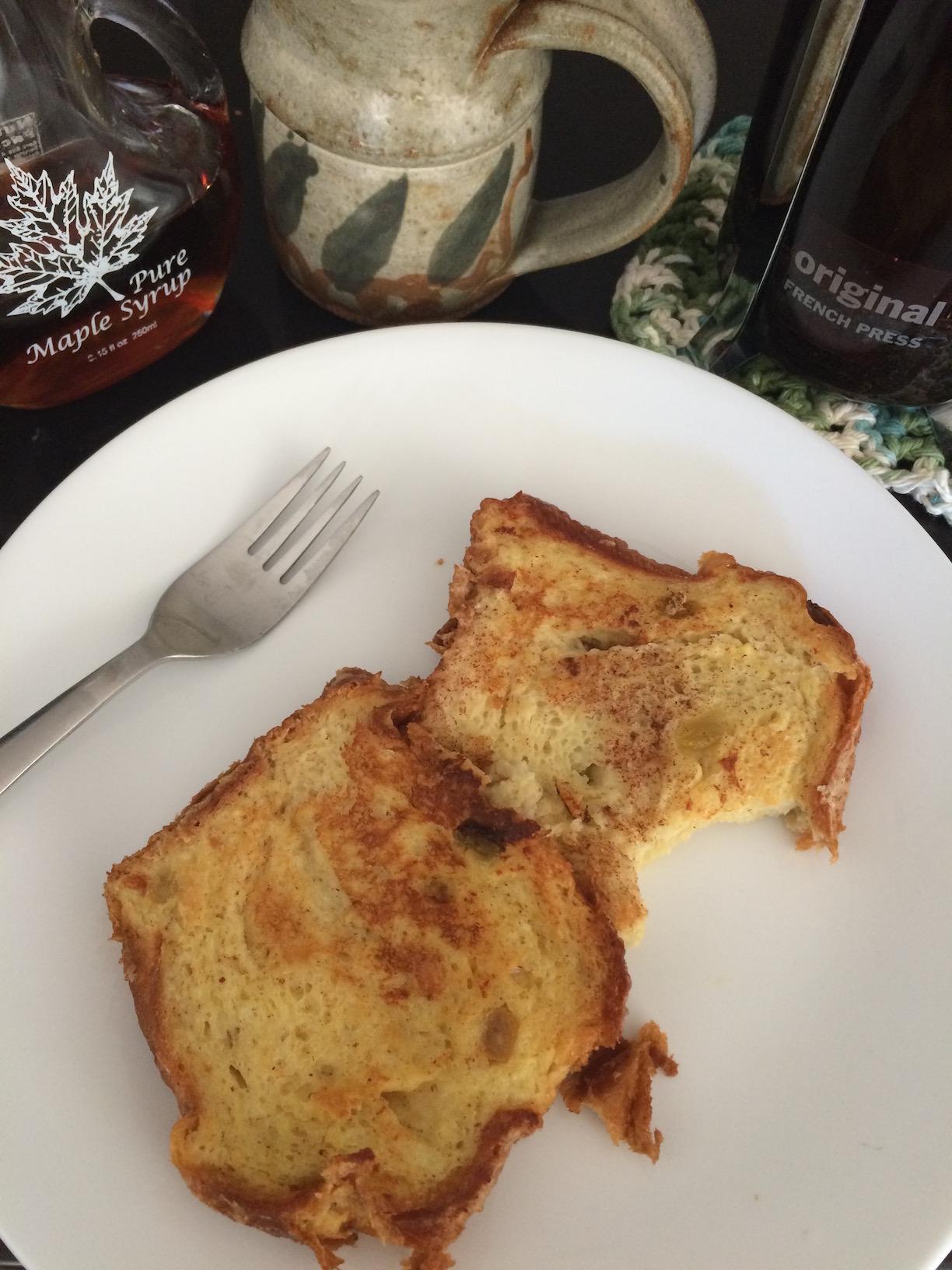Sambuca Soaked Babka French Toast