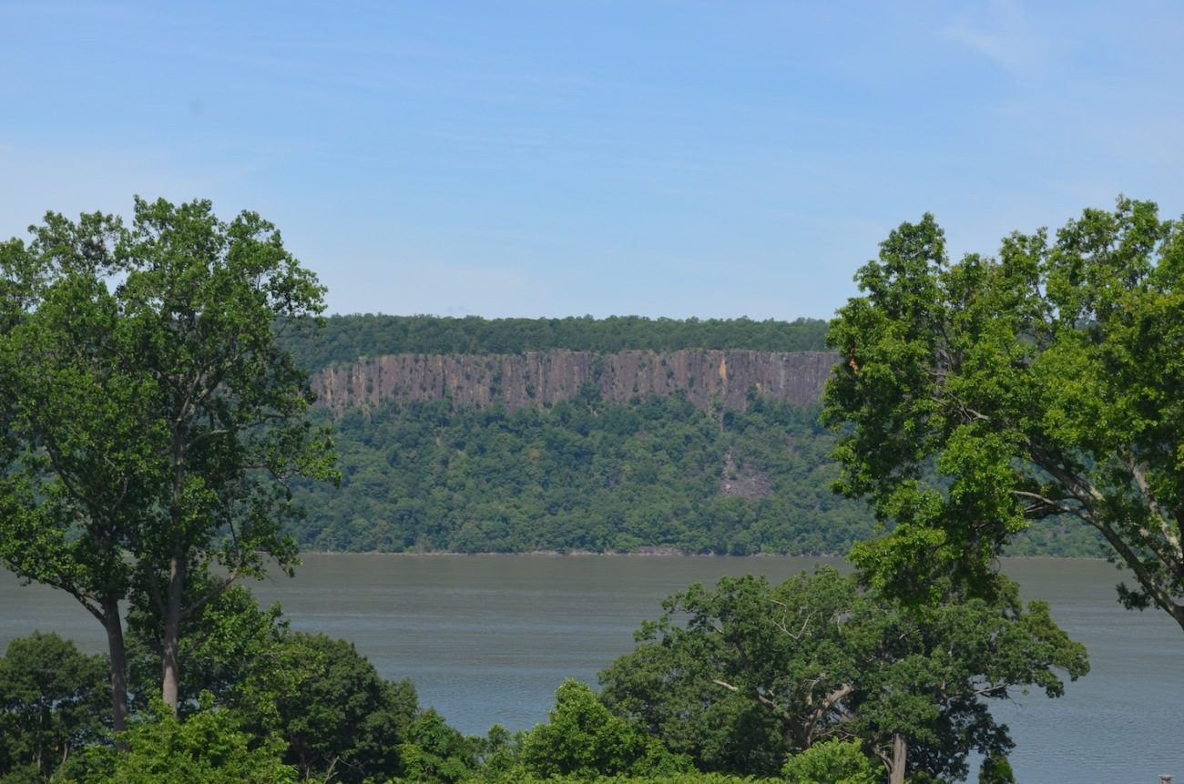 Hudson River Views from Untermyer Gardens