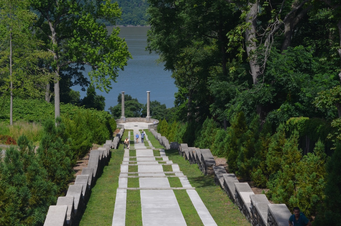 Vista Stairs at Untermyer