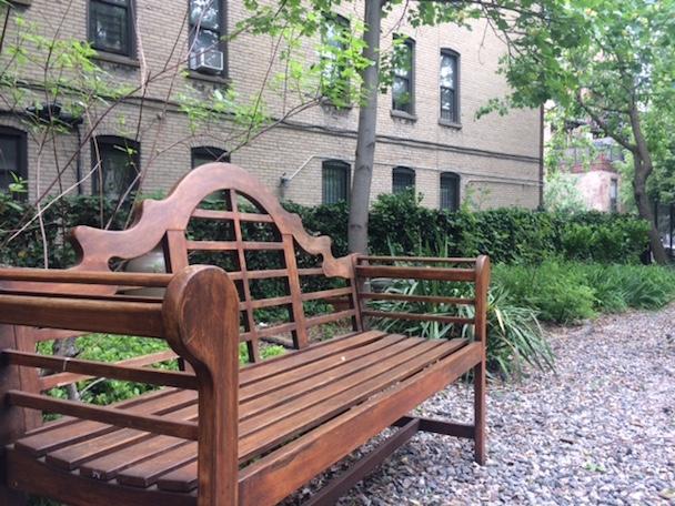 Wood Garden Benches