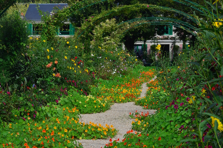 Claude Monet Garden and House in Giverny