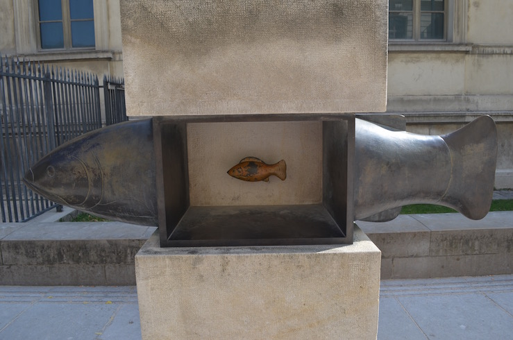FIsh Sculpture in Paris