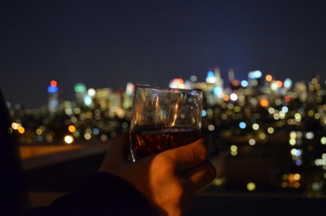 Manhattan over Manhattan