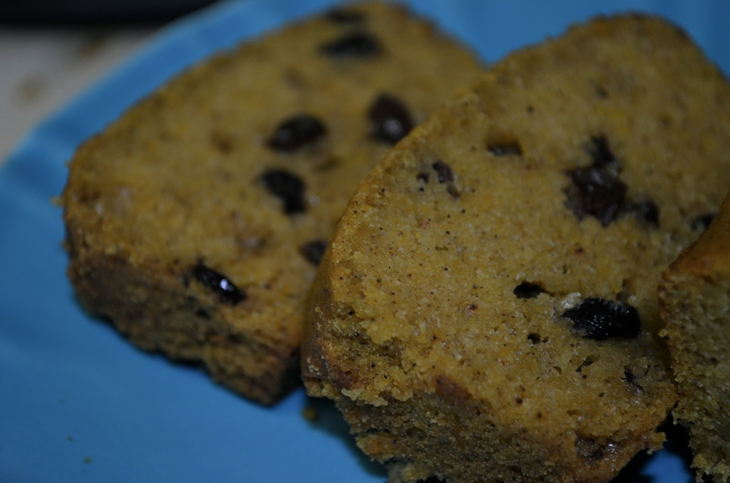 Pumpkin Bread with Currants