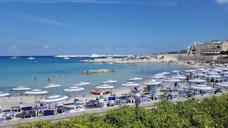 Otranto in Apulia Region of Italy