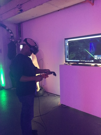 Virtual Reality at Jump into the Light in NYC