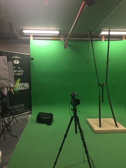 Virtual Reality Green Screen