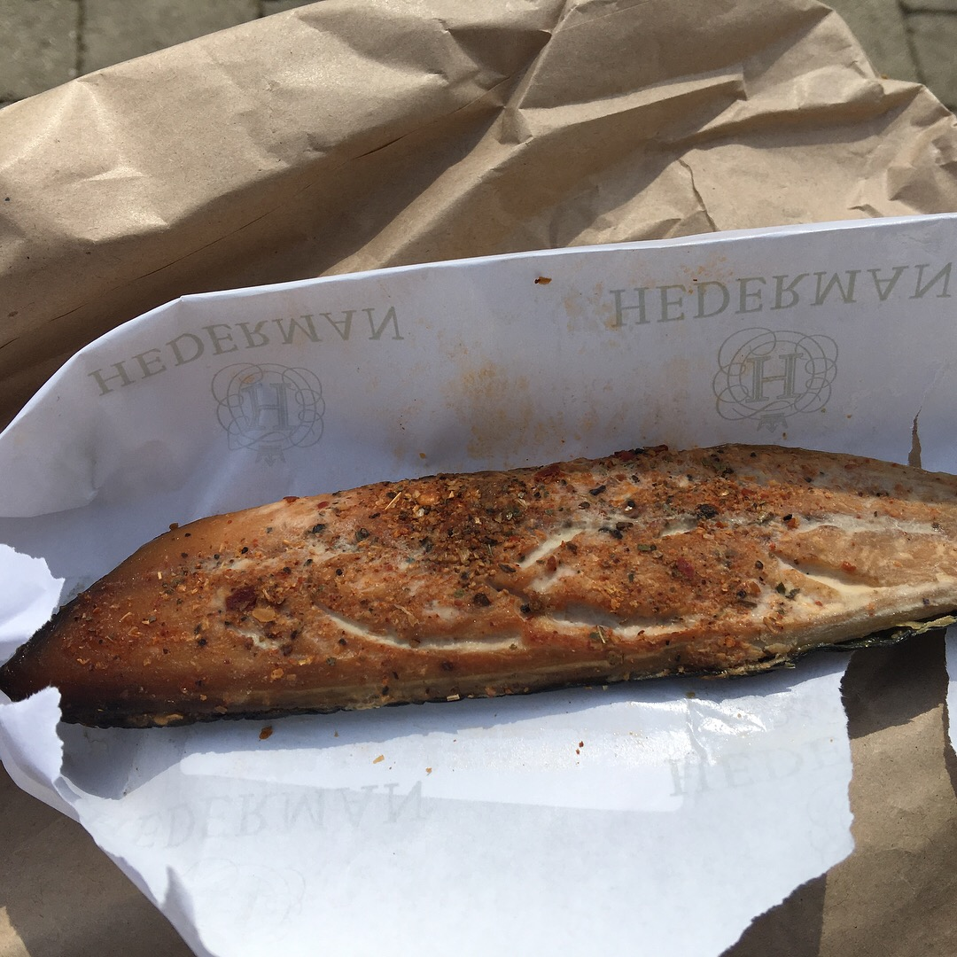 Smoked Mackerel with Piri Piri