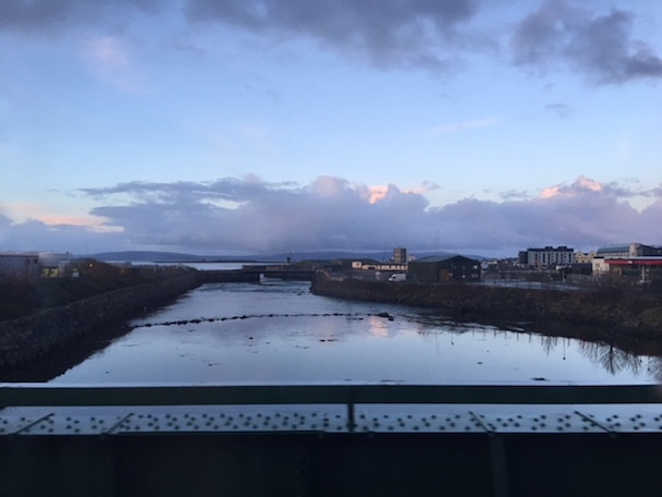 Train Ride in Galway Ireland