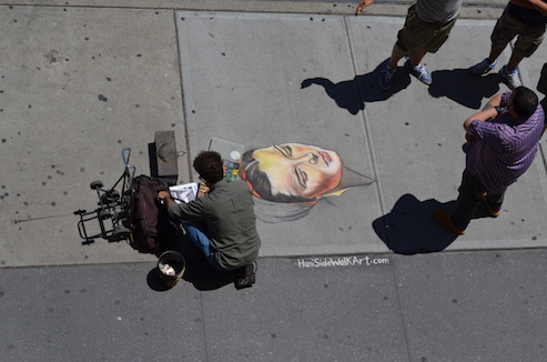 Chalk Art UWS