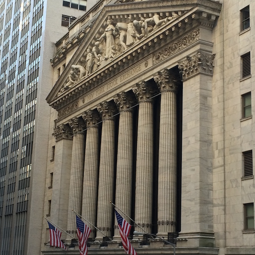 NYSE in Financial District