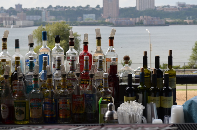 Outdoor Bar New York City Summer
