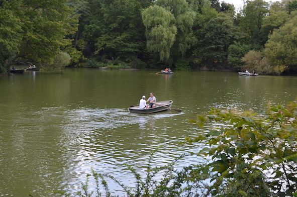 Rowboats in Central Park