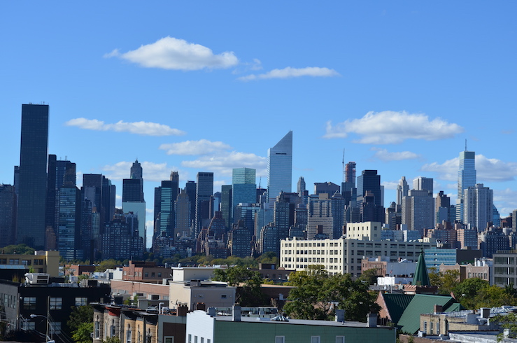 View of Manhattan from Queens
