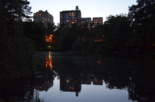 View of UWS from Central Park