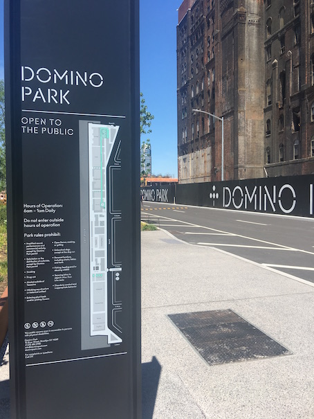 Domino Park in Williamsburg Brooklyn