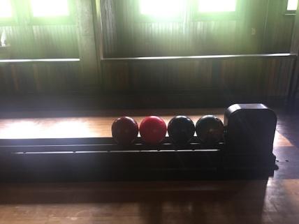 Bowling at Lyndhurst